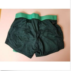 fee10fa62a3649 Nike Shorts - Women s Nike Layer Mesh Shorts Size XS Green